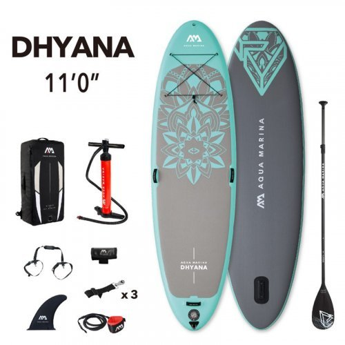 TooMuch SUP, Trampolini in bazeni - AquaMarina SUP Package DHYANA 1 1024x1024 1024x1024
