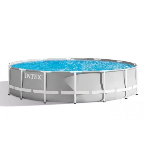TooMuch SUP, Trampolini in bazeni - intex 26720 prism frame round above ground pool 427x107cm
