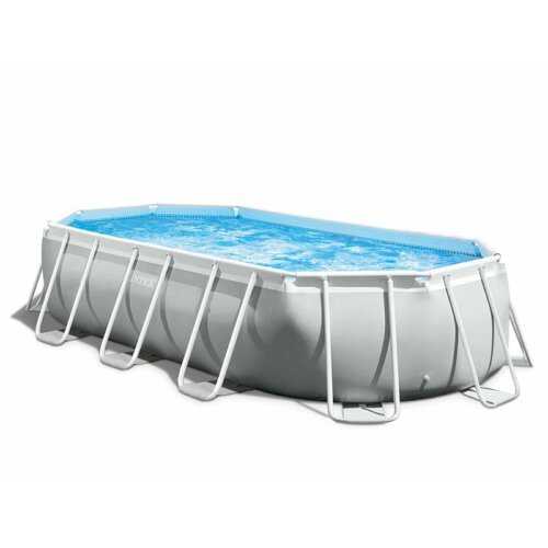 TooMuch SUP, Trampolini in bazeni - intex 26796 tube shaped oval above ground pool 503x274x122cm