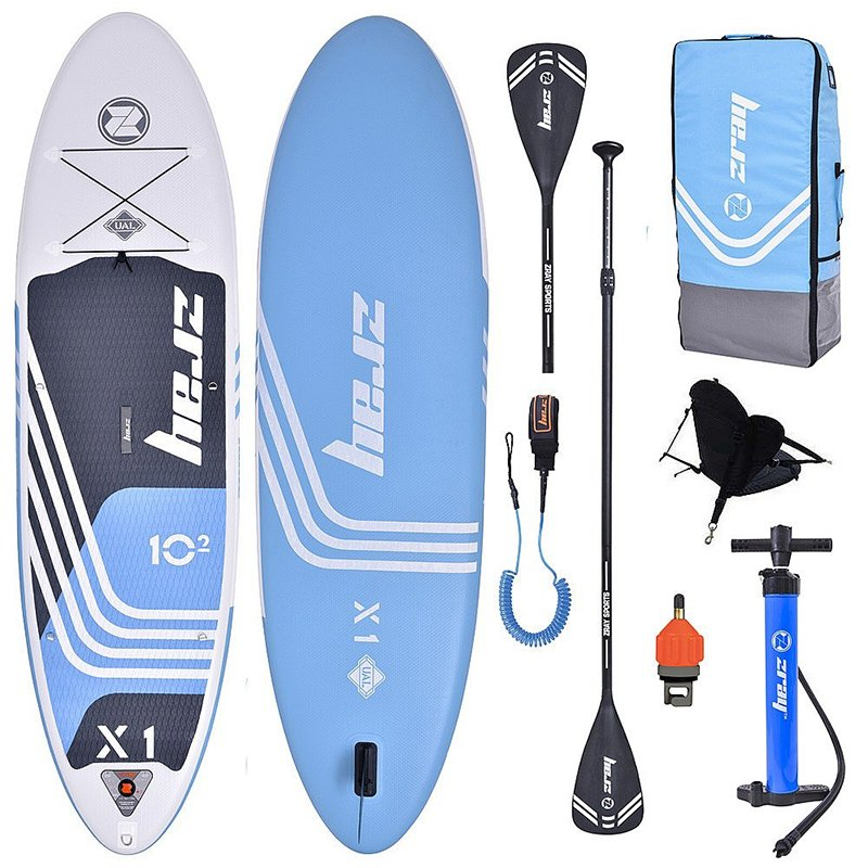 TooMuch SUP, Trampolini in bazeni - paddleboard zray x1 x rider combo 102x32x6 blue